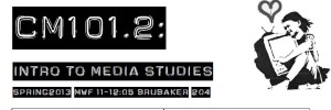 CM101 – Introduction to Media Studies