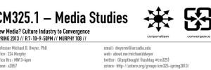 CM325: Media Studies Seminar