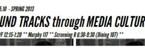 US285: Sound Tracks through Media Culture